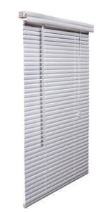 48 x 84 x 1 in. Vinyl Mini Blind in White LRL4884WH