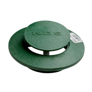 NDS 4 in. Pop-Up Drainage Emitter in Green N420