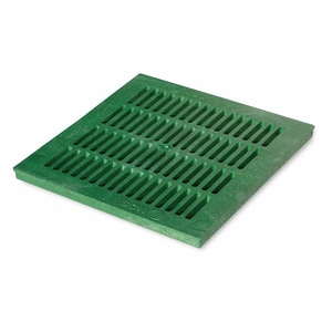 NDS 18 x 18 in. Grate For Catch Basin in Green N181