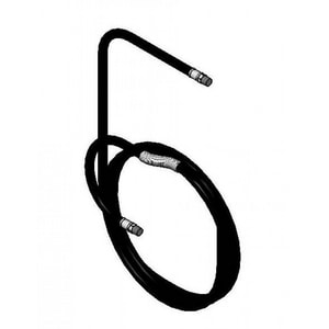 T&S Brass Equip 50 ft. Hose Replacement for Food Service Hose Reel Assembly T5HR2HSE50