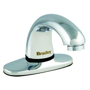 Bradley Corporation Aerada™ 1200 Series No Handle Centerset and Sensor Bathroom Sink Faucet in Polished Chrome BS53315