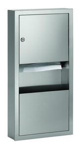 Bradley Corporation BradEx® Towel Dispenser or Waste Receptacle in Satin B2291000000