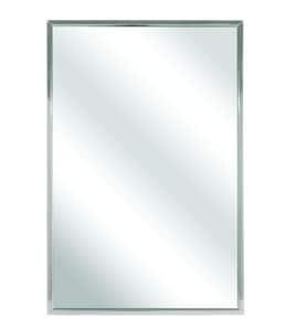 Bradley Corporation BradEx® 30 x 18 in. Channel Frame Mirror B7810180
