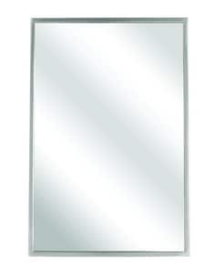 Bradley Corporation BradEx® 30 x 18 in. Theft Resistant Mount Angle Mirror B780018300