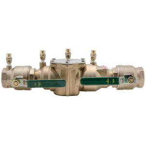 Ames Fire & Waterworks Series LF2000B 1-1/2 in. Cast Bronze Female Threaded 175 psi Backflow Preventer ALF2000BJ