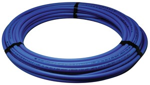 Zurn Pex 3/4 in. x 100 ft. Hot and Cold Poly Tube Polyethylene Tubing in Blue QQ4PC100