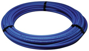 Zurn Pex 1/2 in. x 100 ft. Hot and Cold Poly Tube Polyethylene Tubing in Blue QQ3PC100