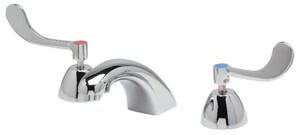 Zurn AquaSpec® Two Handle Widespread Bathroom Sink Faucet in Polished Chrome ZZ831R4XL3M