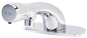 Zurn AquaSpec® 1-Hole Deckmount Slow Closing Centerset Motor Faucet in Polished Chrome ZZ86300XLCP4