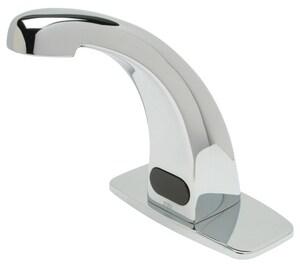 Zurn AquaSense® No Handle Sensor Bathroom Sink Faucet in Polished Chrome ZZ6913XLF