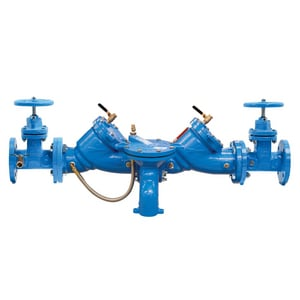 Series LF709 3 in. Epoxy Coated Cast Iron Flanged 175 psi Backflow Preventer WLF709NRSM