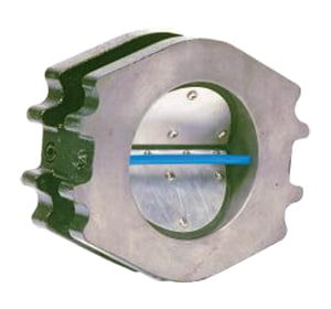 Flexi Hinge Valve Company 8 in. Flanged Cast Iron Blower Check Valve F85184330 at Pollardwater