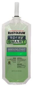 Rust-oleum SpraySmart™ Safety Green Marking Paint R278382 at Pollardwater