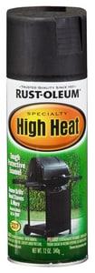 Rust-Oleum® 12 oz. High-Heat Barbeque Spray Paint in Black R7778830 at Pollardwater