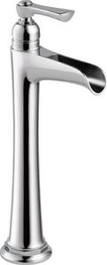 Brizo Rook™ Single Handle Vessel Filler Bathroom Sink Faucet in Polished Chrome D65461LFECO