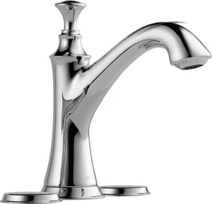 Brizo Baliza® Two Handle Minispread Bathroom Sink Faucet in Polished Chrome Handles Sold Separately D65505LFLHPECO