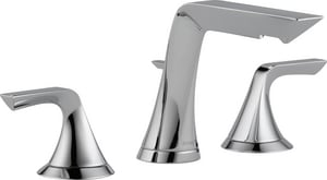 Brizo Sotria™ Two Handle Widespread Bathroom Sink Faucet in Polished Chrome D65350LFECO