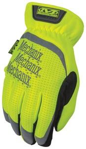 Mechanix Wear Hi-Viz FastFit® L Size Synthetic Leather Fast Fit Safety Glove MSFF91010