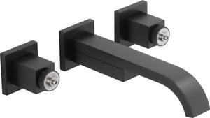 Brizo Siderna® 1.2 gpm 3-Hole Lavatory Faucet D65880LFLHPECO