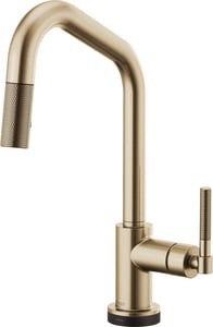 Brizo Litze™ Single Handle Pull Down Kitchen Faucet in Luxe Gold D64063LFGL