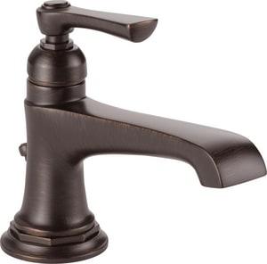 Brizo Rook™ Single Handle Monoblock Bathroom Sink Faucet in Venetian Bronze D65060LFRBECO