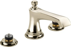 Brizo Rook™ Two Handle Widespread Bathroom Sink Faucet in Polished Nickel D65360LFPNLHPECO