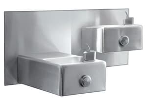 Oasis Wall Mount Drinking Fountain in Stainless Steel OMSSLPM