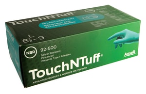 Ansell Occupational Healthcare Nitrile Powder Free Textured Gloves Green Large 100/Box ANS105112 at Pollardwater