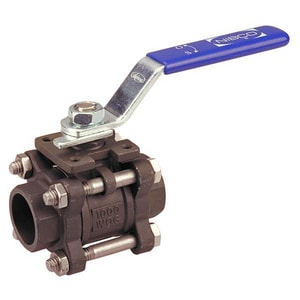 Nibco KM-585-CS-R-66-LL Carbon Steel Full Port Socket Weld 1000# Ball Valve NKM595CSR66LL