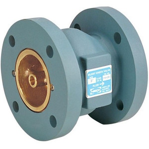 NIBCO 6 in. Cast Iron Flanged Check Valve NF910BLFU at Pollardwater