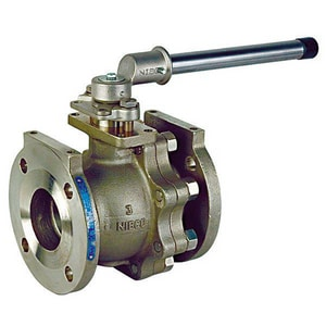 Nibco F-515-S6-F-66-FS 3 in. 316 Stainless Steel Full Port Flanged 150# Ball Valve NF515S6F66FSM