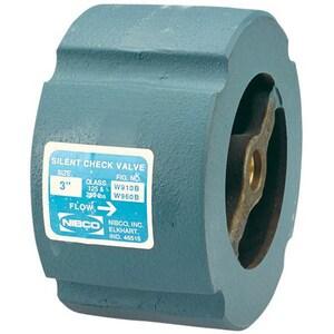 Nibco W-910-B-LF 200 psi Cast Iron Bronze Wafer Silent Check Valve NW910BLF