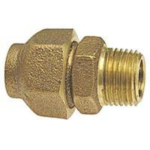 1-1/2 in. Flared x Male Brass Adapter CCFLMAJ
