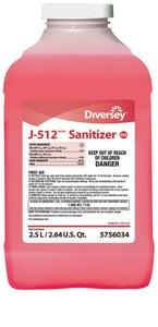 Diversey J-512™ 2.5 L Sanitizer (Case of 2) D5756034