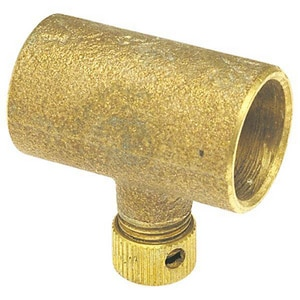 3/4 in. Copper Coupling with Drain CCCWDF