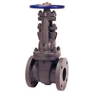 Nibco F-617-O Cast Iron Full Port Flanged Gate Valve NF617O