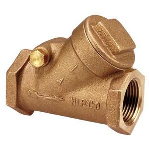 NIBCO 1-1/4 in. Bronze NPT Check Valve NT413YH