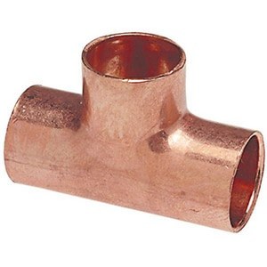 5/8 x 5/8 x 1/2 in. Copper Reducing Tee CTEED