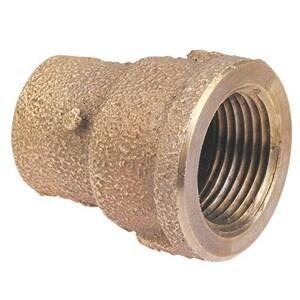 1/2 x 1 in. Copper x Female Brass Adapter CCFADG