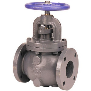 NIBCO F-718-B 2 in. Cast Iron Flanged Globe Valve NF718BK