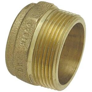 1-1/2 in. Copper x Male DWV Cast Adapter CCDWVMAJ