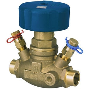 NIBCO S-1710 1-1/4 in. 240 psi Sweat Dezincification Resistant Brass Globe Valve NS1710
