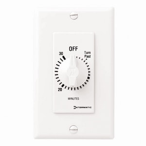 Intermatic 30 Minute Decor Timer Less Hold in White IFD30MWC