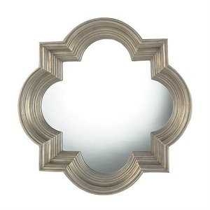 ELK Lighting Osbourne 30 x 30 in. Framed Mirror in Champagne and Silver Leaf EHDM1993