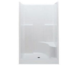 Aquatic Industries Everyday 35 x 60 x 76 in. Alcove Shower Unit in White A1603STCRWH