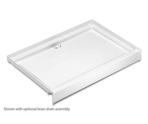 Aquatic Industries Everyday 72 in. Rectangle Shower Base in White A7248MPANWH