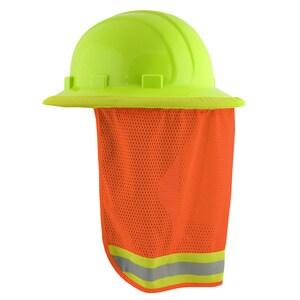 ERB Safety High-Visibility Mesh Neck Shield in Orange E19282