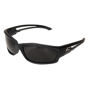 Edge Eyewear Kazbek Smoke Lens Black Frame Safety Glasses WTSK216