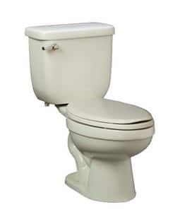 PROFLO® Jerritt Series 1.6 gpf Elongated Floor Mount Toilet Bowl in White PF1403T