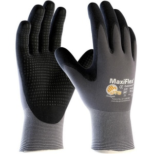 Protective Industrial Products MaxiFlex® Endurance™ L Size Micro Foam and Nitrile Coated Glove in Grey and Black P34844